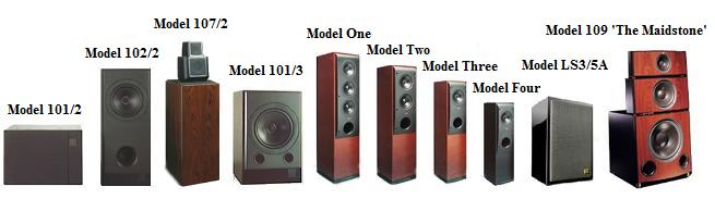 kef 103 2. 101/2 (1990-1994) \u0027the smallest speaker in the reference series, model represents maximum possible performance minimum size. kef 103 2