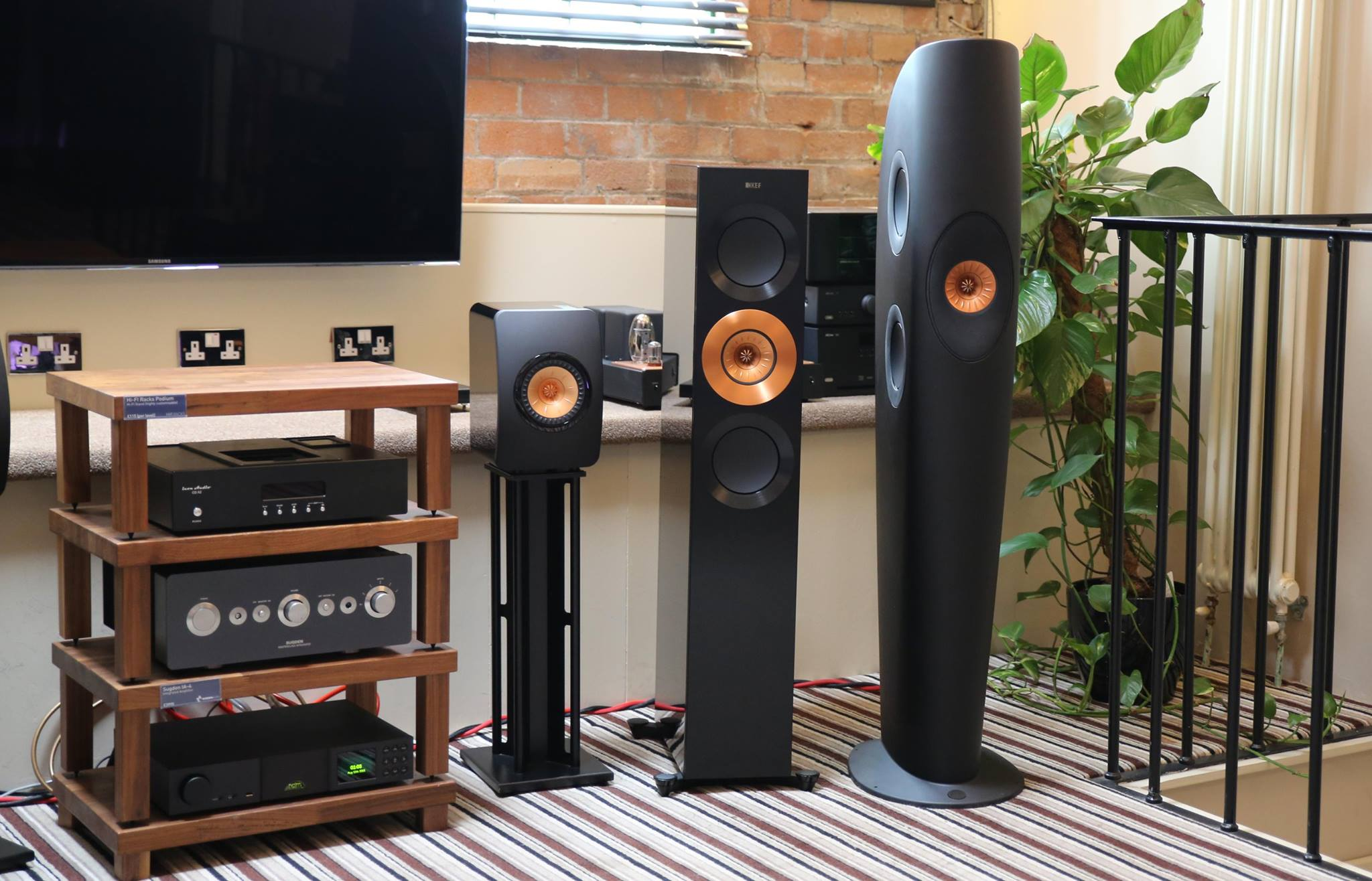 Kef S Gold Tweeter Edition Speakers All Together Now