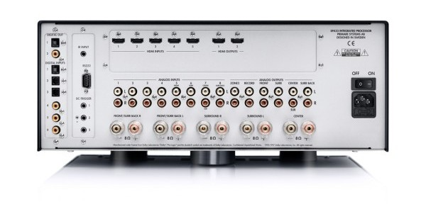 Primare SPA23 4KVM rear