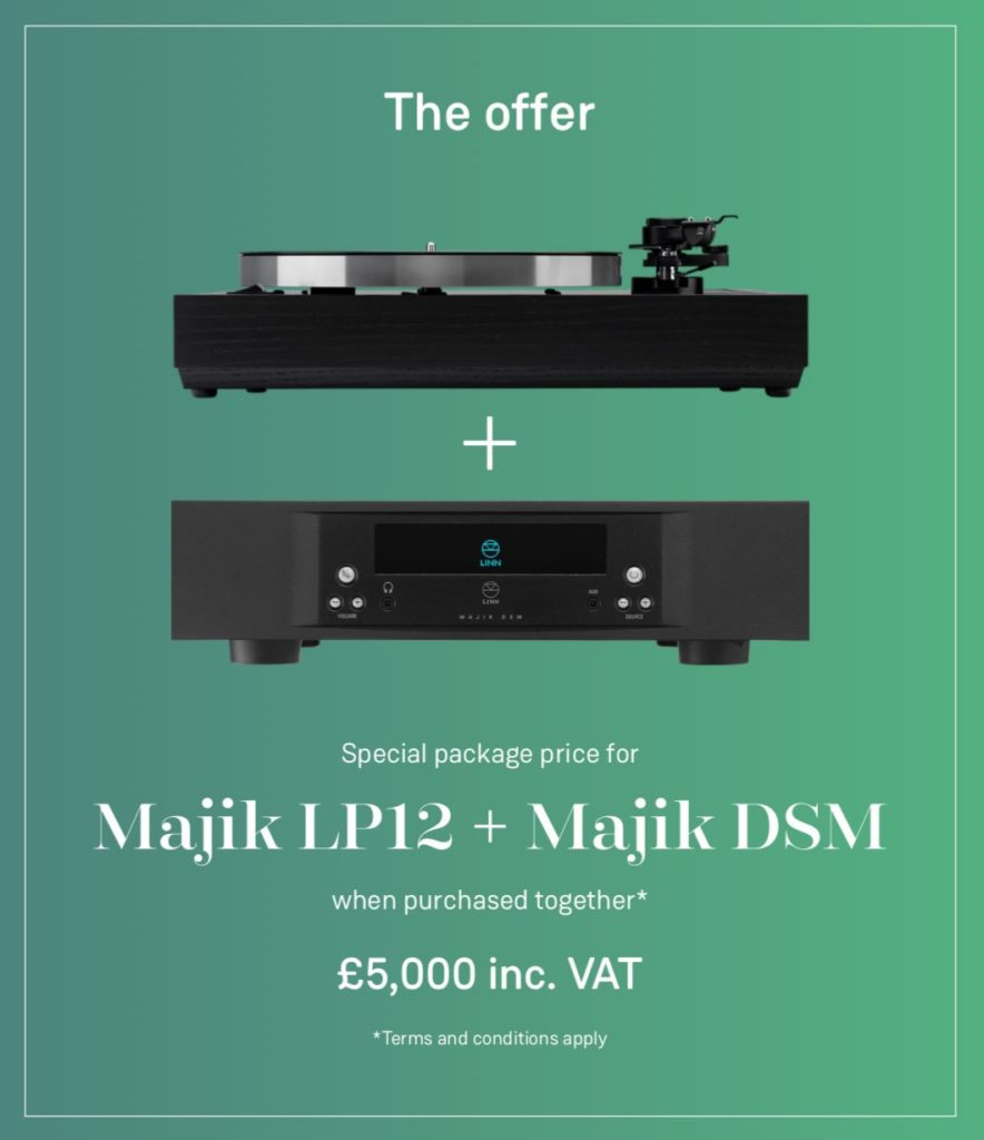 Linn Majik LP12 and DSM offer