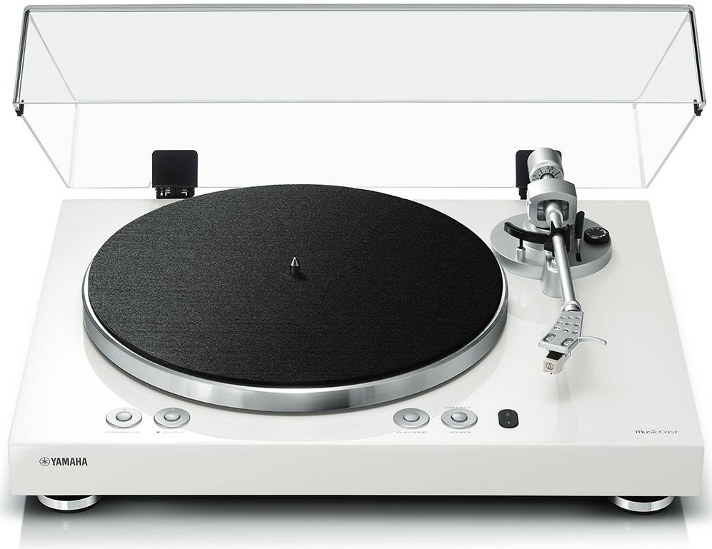 Yamaha Vinyl 500 Turntable White