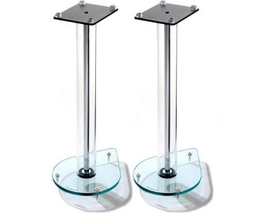 Atacama Aurora 6 Glass Speaker Stands (Pair)