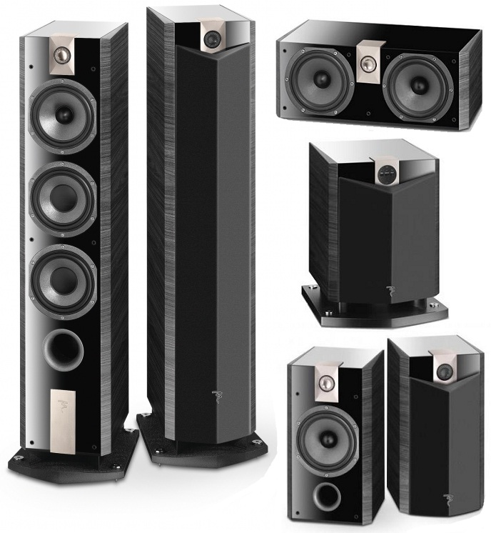 Focal 800 5.1 AV Speakers Package