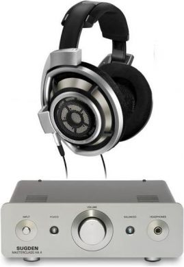 Sennheiser HD800 Headphones + Sugden HA-4