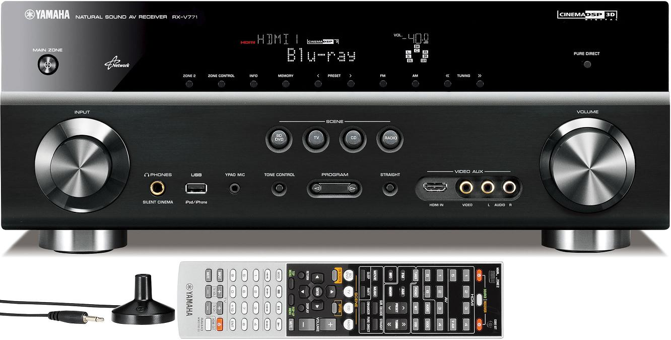 Yamaha RX-V771 AV Receiver - Titanium (Free UK Delivery) New