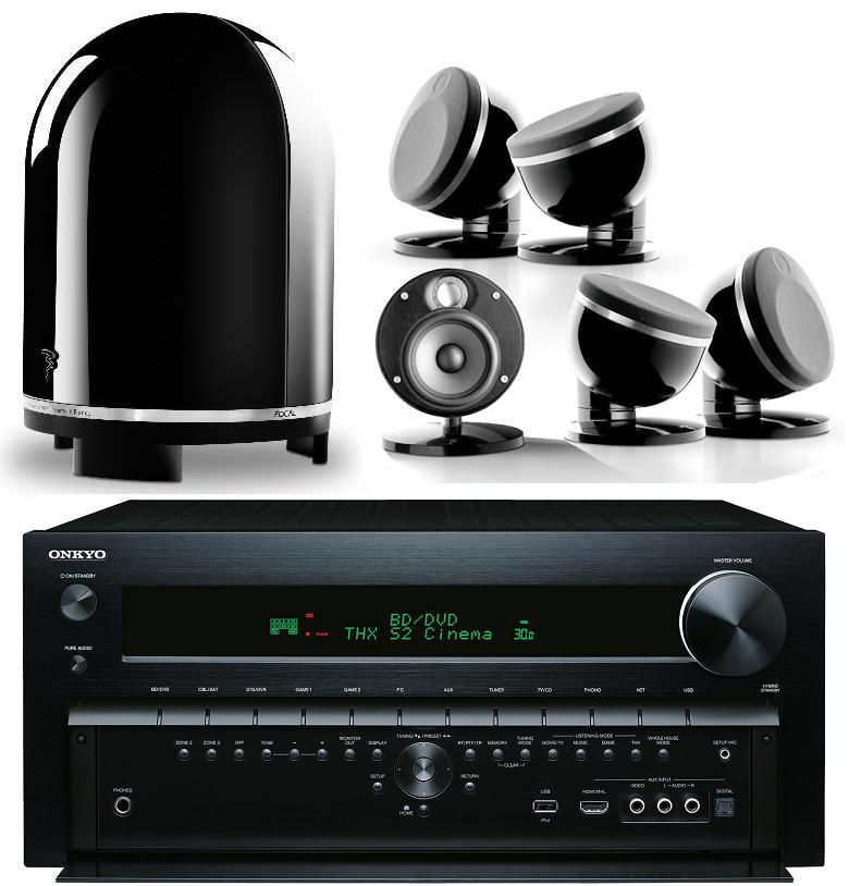 Onkyo TX-NR818 + Focal Dome 5.1 Package