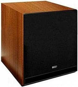 KEF C4 Subwoofer Walnut