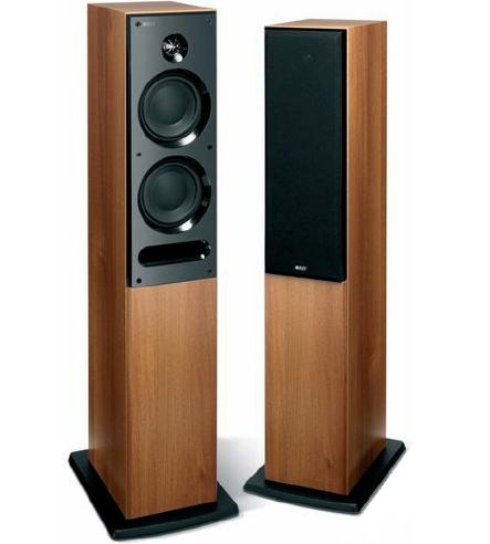 KEF C5 Speakers (Pair) Walnut