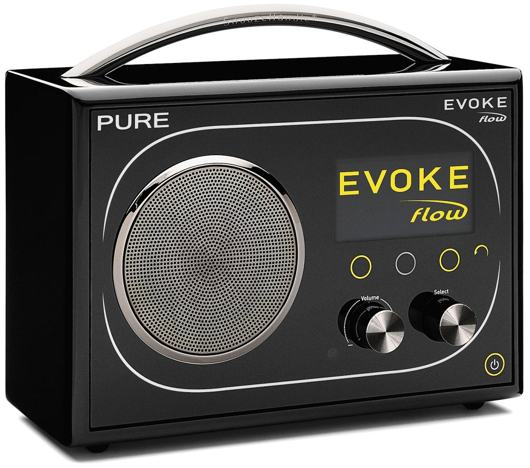 PURE Evoke Flow DAB / FM / WiFi Radio