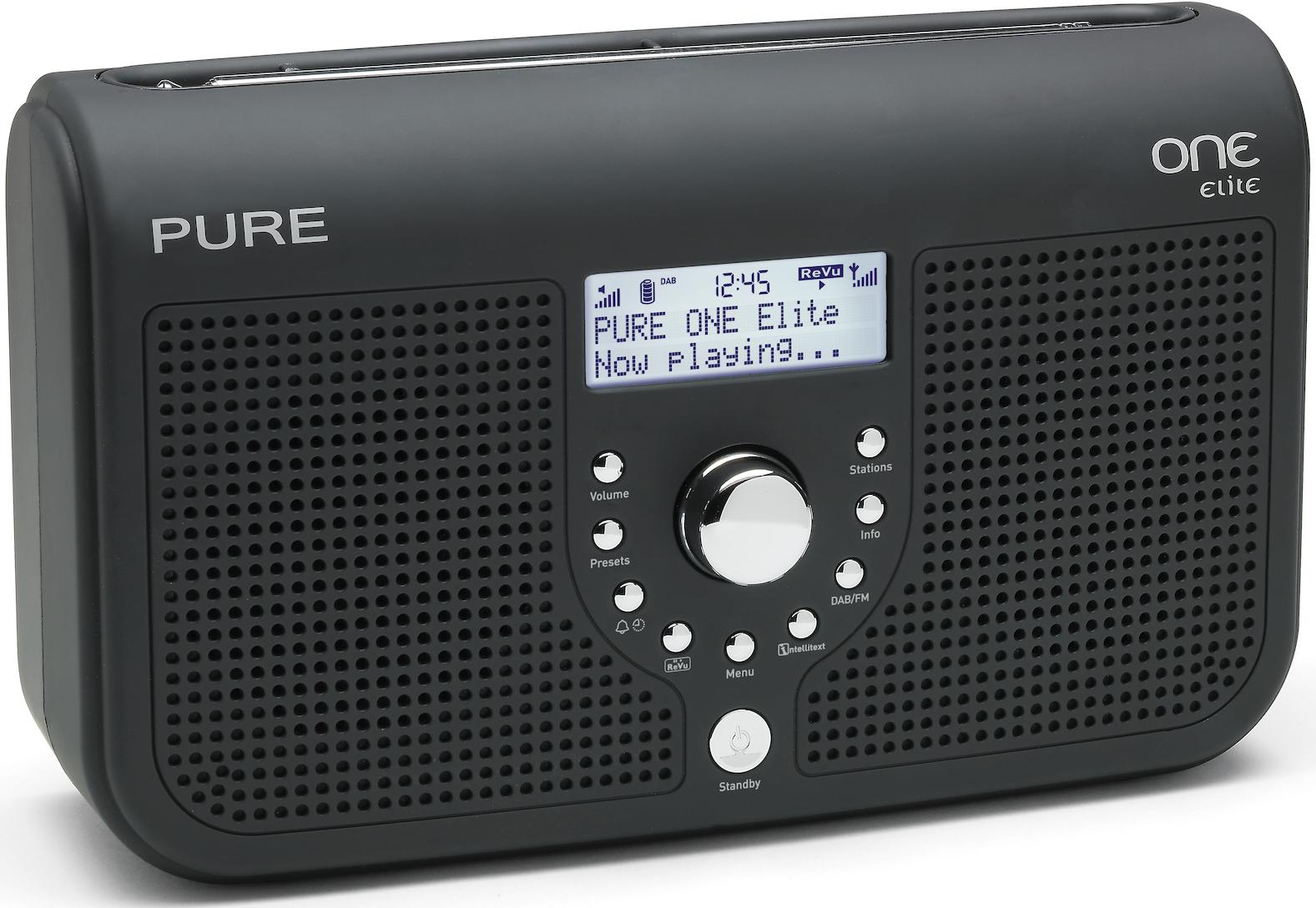 PURE One Elite DAB / FM Alarm Clock Radio