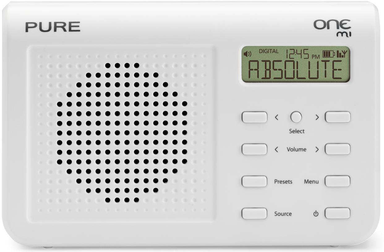 PURE One Mi Palm-Sized DAB / FM Radio