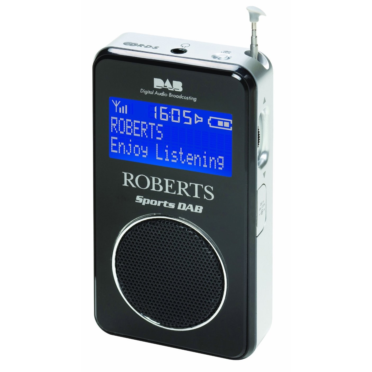 Roberts Sports DAB II Portable Pocket Radio