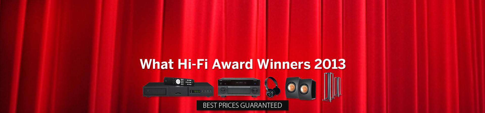 What HiFi Award Winners 2013