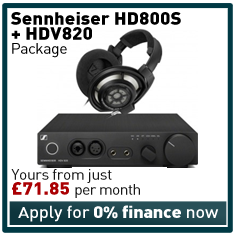 Sennheiser HD800S and HDV820