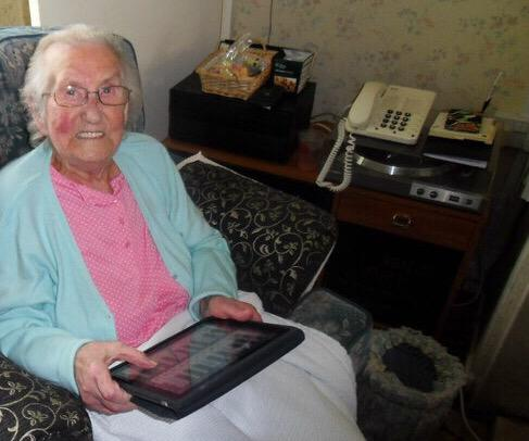 """Caroline Salter via Twitter:  """"My granny uses hers as a telephone stand!"""""""