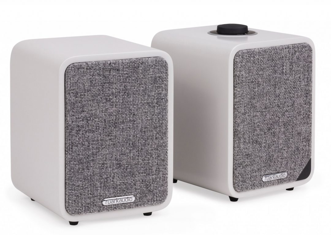 The Ruark MR8 Mk8 Active Speakers prove small is beautiful - Audio