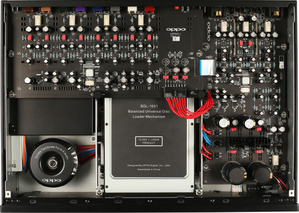 Oppo UDP-205 Chassis