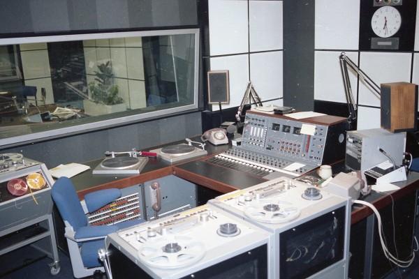 LS3/5A 1970s control room