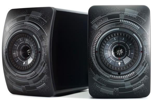 KEF ls50 wireless nocturne speakers