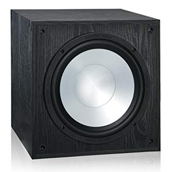 Black and Silver: The MRW-10 Subwoofer