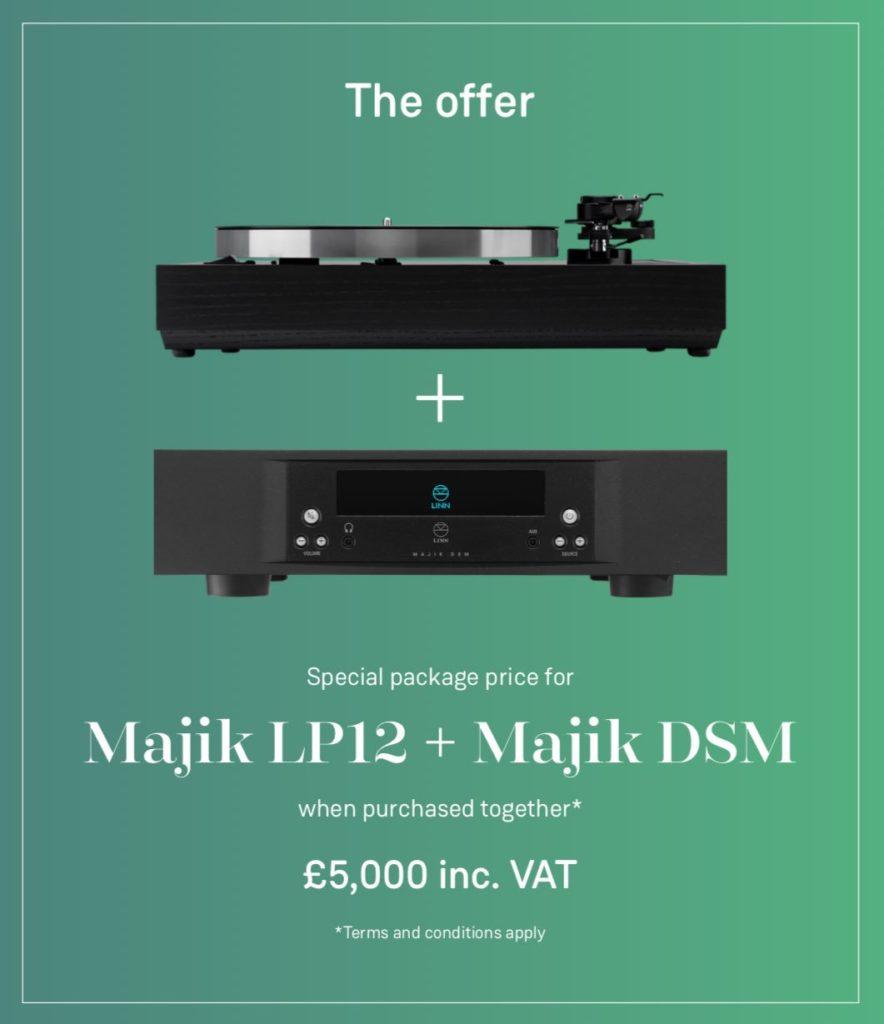 Linn Majik LP12 and DSM offer
