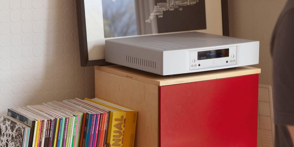 Linn Majik DSM hi-fi system silver