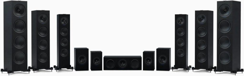 KEF Q-series speaker range