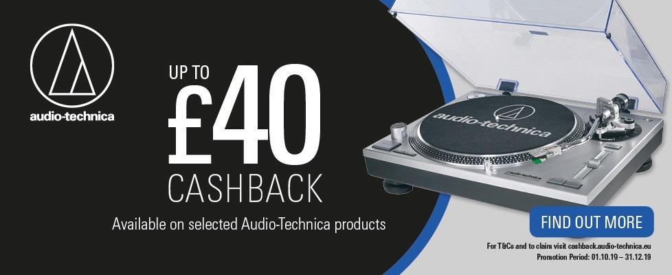 Audio Technica Cashback Campaign 2019
