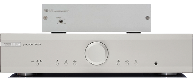 Musical Fidelity M2si Integrated Amplifier with v90 LPS
