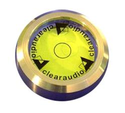 Clearaudio Precision Bubble Level Gauge - Stainless Steel
