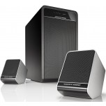 Acoustic Energy Aego 3 Active 2.1 Speakers Black White Speakers