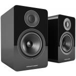Acoustic Energy AE1 Active Speakers (Pair)-Piano Black