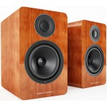 Acoustic Energy AE1 Active Speakers (Pair)-Piano Cherry