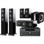 KEF R5 5.1 + Arcam AVR550 Home Cinema Package