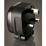 MS HD Power MS 328Rh Rhodium 13A UK Mains Plug