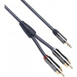 QED Performance J2P (Graphite) RCA to 3.5mm Cable