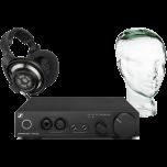 Sennheiser HD800S Headphones + HDV 820 + Glass Head Stand
