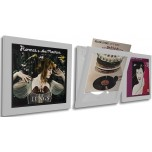 Art Vinyl Play and Display LP Frame Triple Pack White