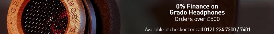 All Grado Headphones on demo in store