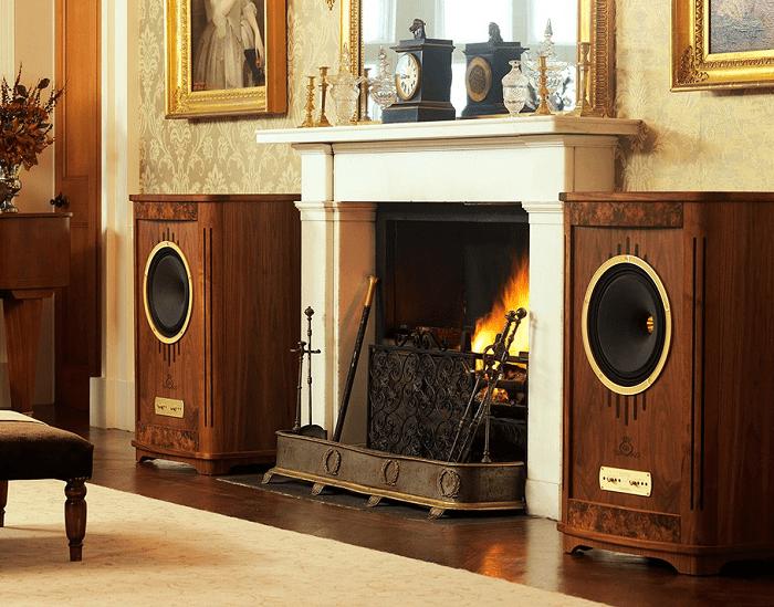 Tannoy Prestige Hotel Fireplace